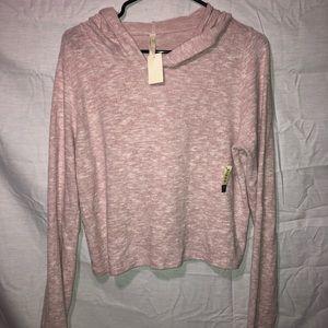 Super Soft Crop Top Sweatshirt L